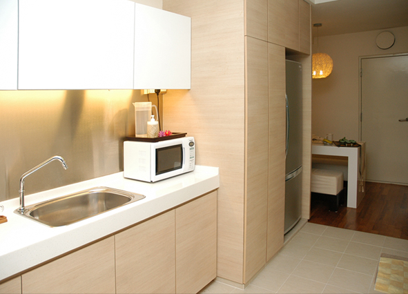 Iinchstudio hdb new flat kitchen designers 39 package Kitchen door design hdb